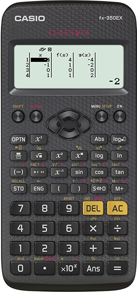 Fx 350ex Classwiz Non Programmable Scientific Calculator Casio