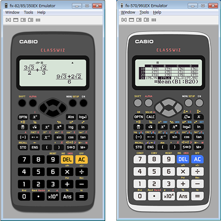 Casio emulator