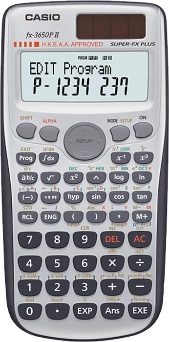 Casio Calculator FX-3650P